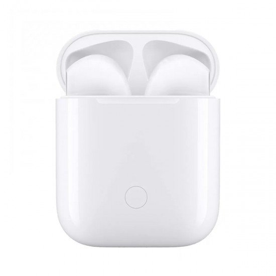 i12 Wireless White Bluetooth Headphones