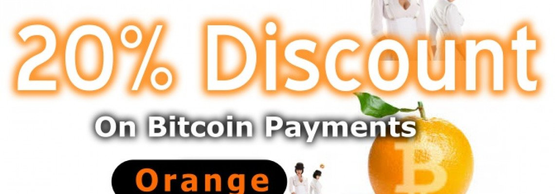 20% OFF BITCOIN ORDERS